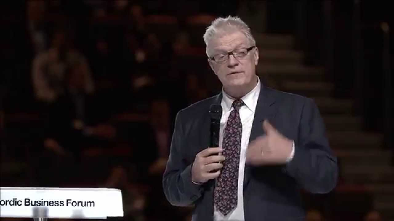Sir Ken Robinson How Finding Your Passion Changes Everything Part 1 Nordic Business Forum 2014