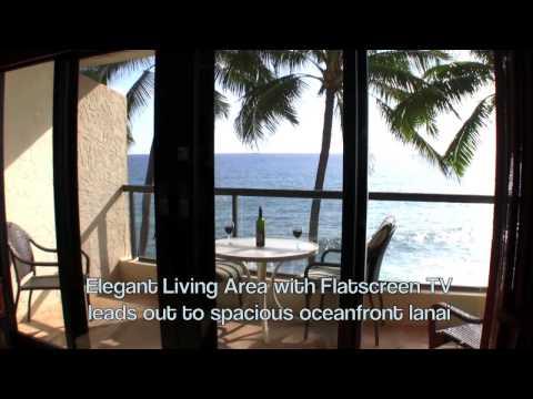Amazing Kauai Direct Oceanfront Luxury Vacation Rental at the Poipu Shores Resort