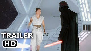 "STAR WARS 9 ""Rey Fights Kylo"" Trailer (NEW 2019) The Rise of Skywalker Movie HD"