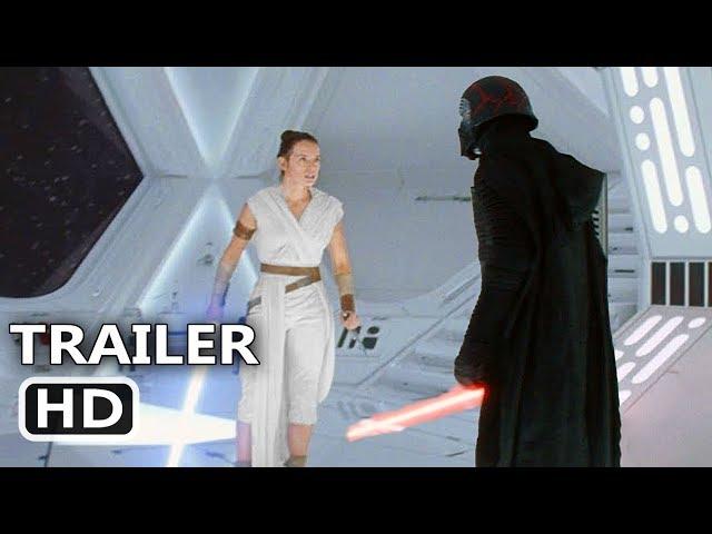 "STAR WARS 9 ""Rey Fights Kylo"" Trailer (NEW 2019) The Rise of Skywalker Movie HD"