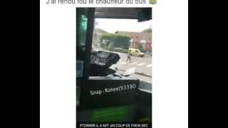 Il a rendu fou le chauffeur du bus