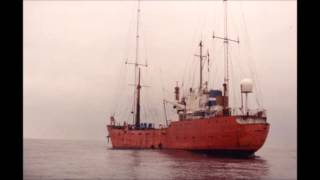 Radio Sunk - Johnny Lewis from the MV Communicator