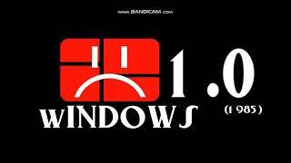 Windows 1.0 Blue Screen of Dead!