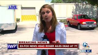 Roger Ailes fell at Palm Beach home 8 days before death