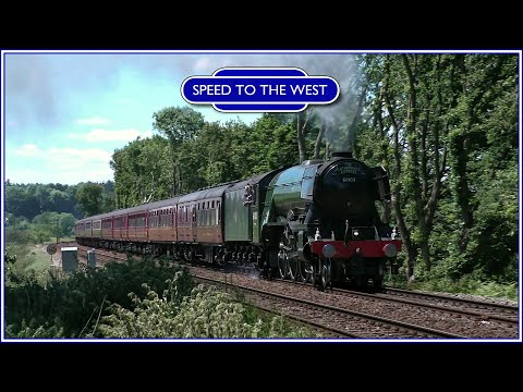 60103 'Flying Scotsman' touring in the South of England - May & June 2017