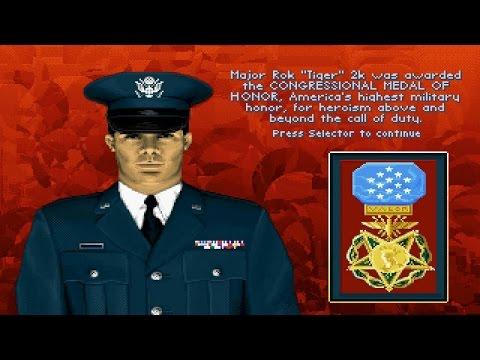 F-117A Stealth Fighter 2.0 u0022Major Promotion u0026 Medal of Honoru0022 (PC/DOS) Microprose