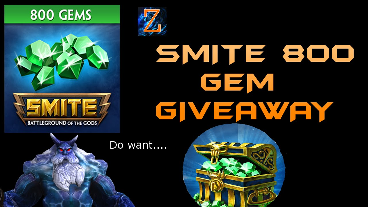 smite free gems giveaway