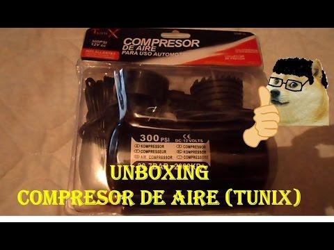 Unboxing Compresor De Aire ( Tunix )