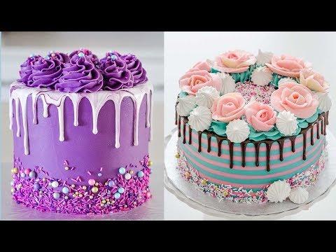 Amazing Easy Cake Dessert Recipes 2019   My Favorite Cake Decorating Videos