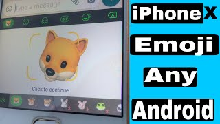 Get iPhone X emoji on any android phone (Hindi)