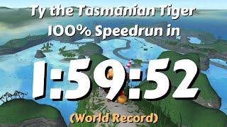 Download (World Record) Ty the Tasmanian Tiger 100% Speedrun in 1:59:52