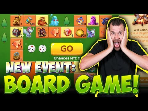 JT's F2P New Board Game For A Dragon DO IT! Castle Clash