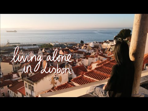 living alone in lisbon & learning to enjoy my own company 😌   viola helen