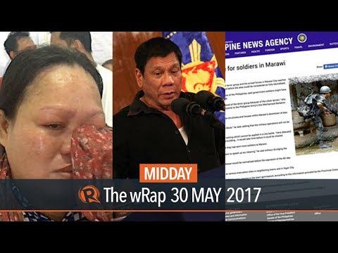 Senate, Marawi clash, Philippine News Agency | Midday wRap