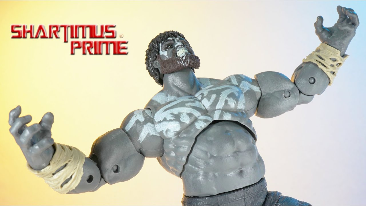 Marvel Legends Outback Hulk GamerVerse Avengers Video Game Hasbro GameStop Action Figure Review