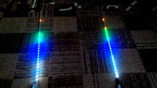 Vu-meter 2X32led  atmega8 by tyomanik