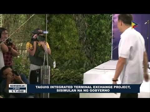 NEWS BREAK: Taguig Integrated Terminal Exchange project, sisimulan na ng gobyerno