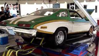 1973 pontiac lemans on chassis dyno