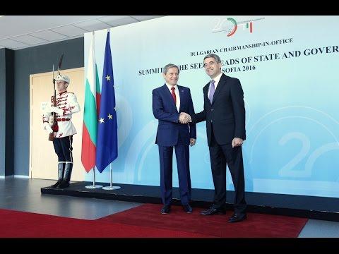 6/1/16: Sofia - Premierul Dacian Cioloș a participat la summitul SEECP