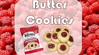 Carol In The Kitchen: Butter Cookies (w/ Strawberry & Blackberry Jam)