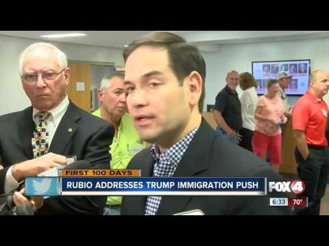Sen. Marco Rubio says border wall is critical for security
