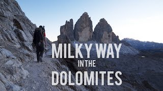Milky Way Photography in the Dolomites (Part 2)