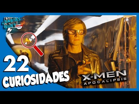22 Curiosidades de X-Men: Apocalipsis...
