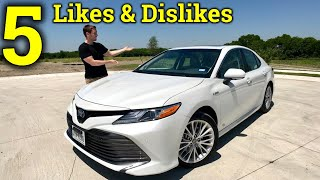 Living With The New Camry | 2018 Toyota Camry 5 Likes & Dislikes