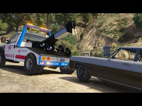 Los Santos Goes to Work - Day 26 - AAA Towing