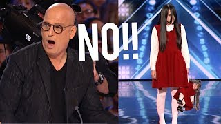 SHE BRINGS OUT A GHOST NEXT TO THE JUDGES SCARIEST AUDITION EVER - America&#39s Got Talent 2018