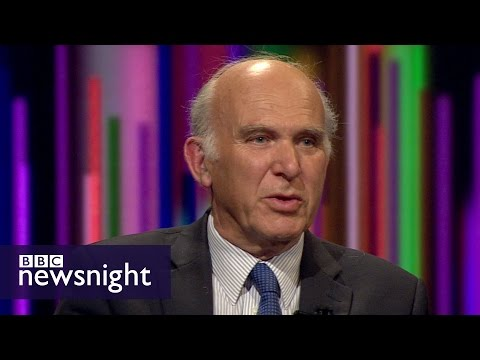 Vince Cable on social care, pensions and Brexit - BBC Newsnight