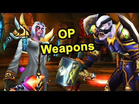 Classic WoW: 10 Overpowered Weapons