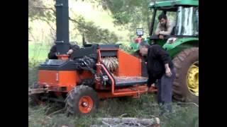 dal parçalama (yongalama) makinası