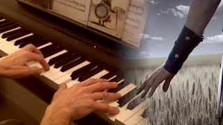 Now we are free - Gladiator OST - piano cover with lyrics