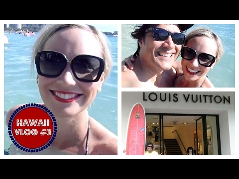 Hawaii Vlog 3 - Halekulani Hotel, Valentino, North Shore & general vacation awesome-ness!