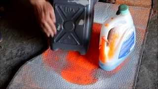 Тестируем китайскую жидкую резину.(Купил для пробы жидкую резину китайского производства, сам производитель позиционирует её в классе эконом...., 2014-05-23T19:03:26.000Z)