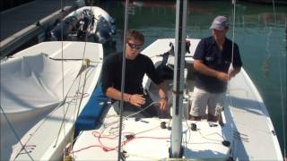 Etchells How to guide Part 2 0, spinaker hoist