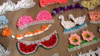 Repeat youtube video PUNTILLAS A CROCHET