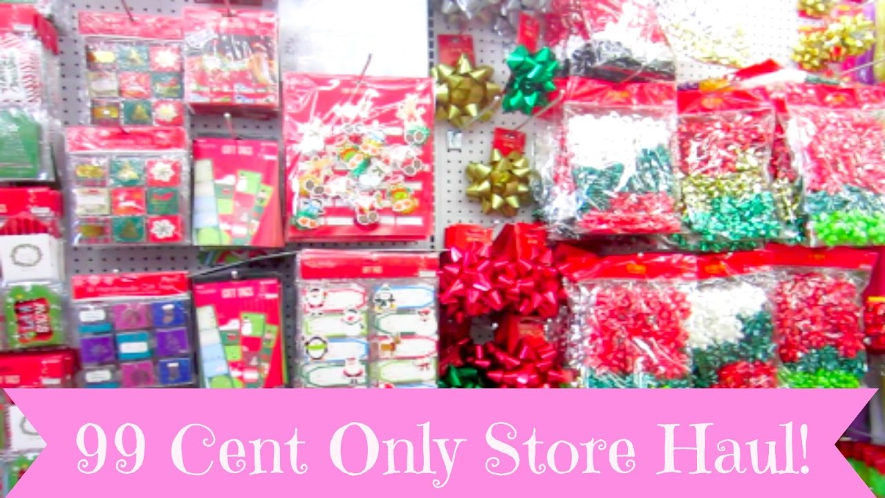 NEW 99 Cent Only Store Haul More Christmas Goodies
