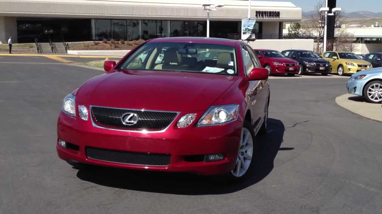 2006 lexus gs 300 for sale denver co youtube. Black Bedroom Furniture Sets. Home Design Ideas