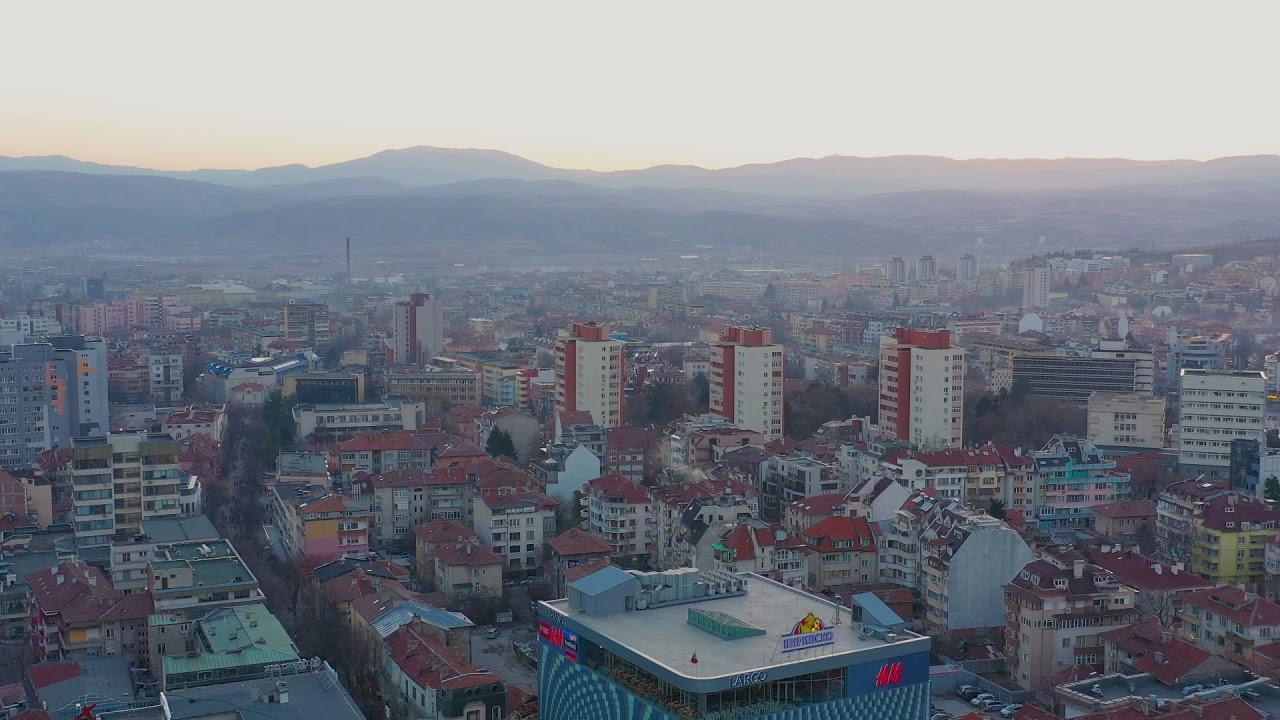 Благоевград от птичи поглед! Вижте как изглежда този град, заснет от високо с дрон!