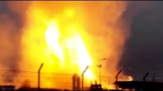 One dead, 18 hurt in explosion at natural gas plant in Austria