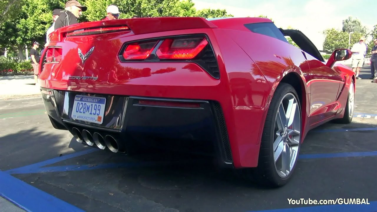 2014 Corvette C7 Stingray Start Up Exhaust Sounds