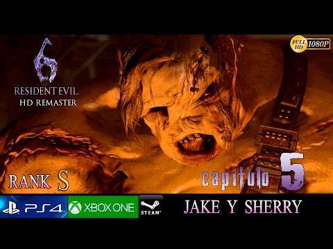Resident Evil 6 HD Capitulo Final - Campaña Jake y Sherry  | Gameplay Español | Final Boss Ustanak