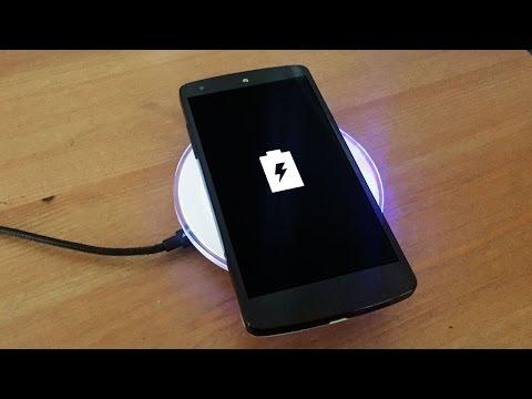 Android Telefonlar İçin Kablosuz Şarj Cihazı İncelemesi: Qi Wireless Pad
