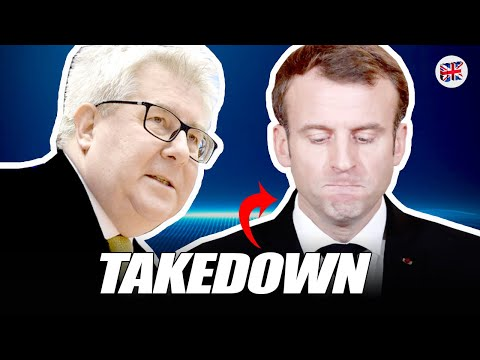 """Macron """"has no consistent plans""""! Poland's MEP has just humiliated the French President cruelly."""