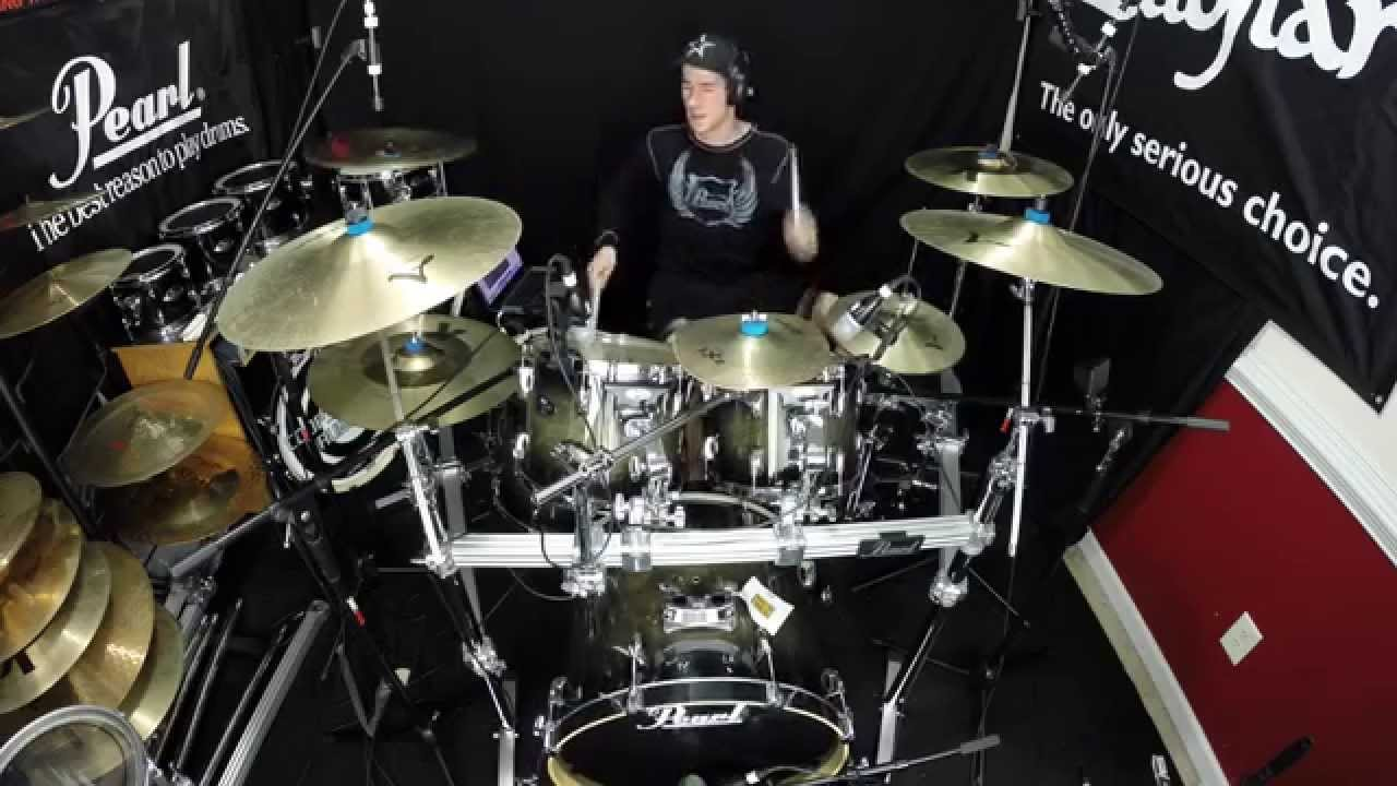 Pearl Vision Drum Set   Unboxing   Sound Test   YouTube