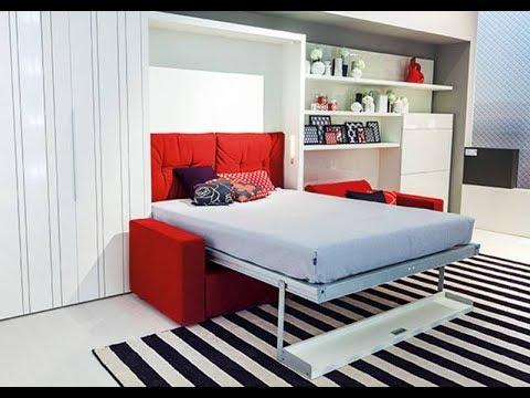 Как сэкономить место в квартире?  Мебель-трансформер | Furniture Transformer And Wall Beds
