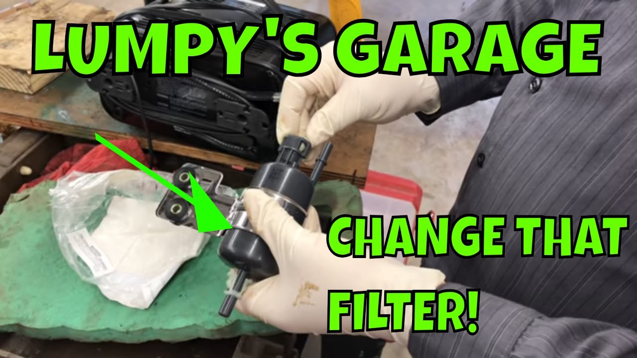 How To Replace A Fuel Filter On 99 04 Jeep Grand Cherokee Youtube 2004 Location