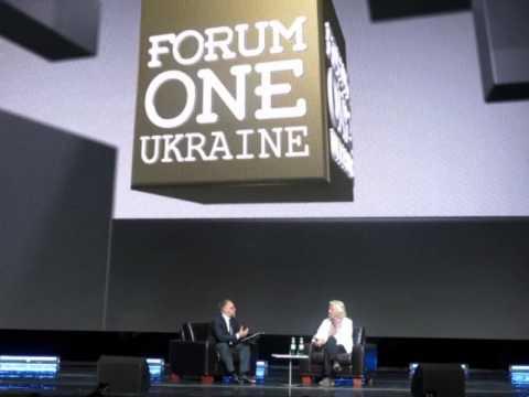 Forum One Ukraine 2015 и о чем говорил Ричард Бренсон
